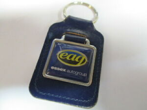 Essex-autogroup-leather-keyring-Superb-condition-free-post
