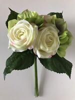 Raz Importsrose & Hydrangea Flower Bouquet Bundle Floraleasterspray/wreath