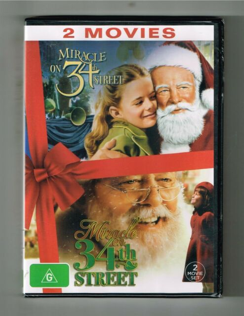 Miracle On 34Th Street 1947 & 1994 Dvd 2-Movie Collection - Brand New & Sealed
