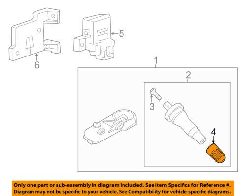 FORD OEM TPMS Tire Pressure Monitor-Cap 9L3Z1A163A
