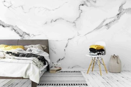 3D Marble Texture Self-adhesive Removable Wallpaper Murals Wall Sticker FC