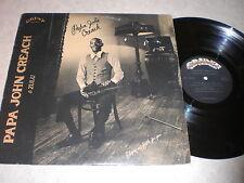 Papa John Creach & Zulu: Playing My Fiddle For You LP