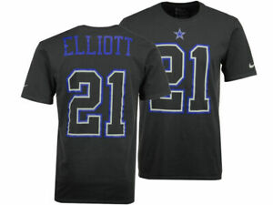 wholesale dealer bbed2 d99fa Details about Nike Men's Dallas Cowboys Travel N&N T-Shirt - Small - Grey -  Elliott 21 - New