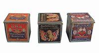 Dolls House Miniature Biscuit Tins Vintage Kitchen Accessory- 1:12