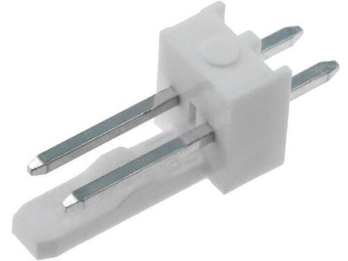 20x MX-6410-02A Buchse Leitung-Platte männlich KK 254 2,54mm PIN 2 THT 4A MOLEX