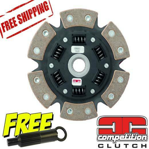 Stage 4 Competition Clutch 6 Puck Sprung Disc For Honda