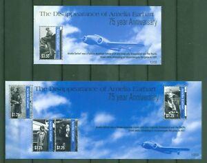 Tuvalu 2012-amelia Earhart-avions-joya 1811-14 + Bloc 180-in 1811-14 + Block 180 Fr-fr Afficher Le Titre D'origine éLéGant En Odeur