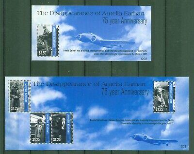 Tuvalu 2012 - Amelia Earhart - Flugzeuge - Frauenrechtlerin 1811-14 + Block 180
