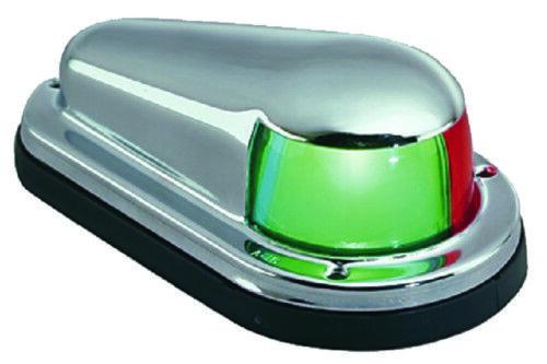 Perko Stiefel Marine Zweifarbig Verchromt Schleife Licht 1 Mile Sichtbarkeit