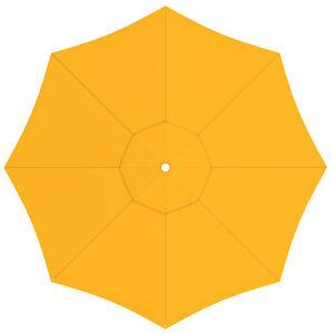 Sonnenschirm-Bespannung-paragrandi-Gartenschirm-Grossschirm-5-m-rund-gelb-B-Ware