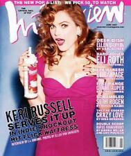 Interview Magazine June 2007 Keri Russell Ellen Barkin Eli Roth Ellen Page Cyndi