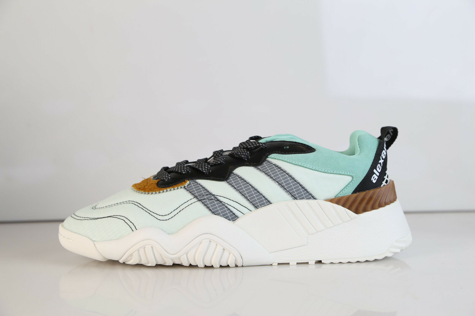 Adidas AW Alexander Wang Turnout Trainer White Clear Mint Black DB2613 8-13