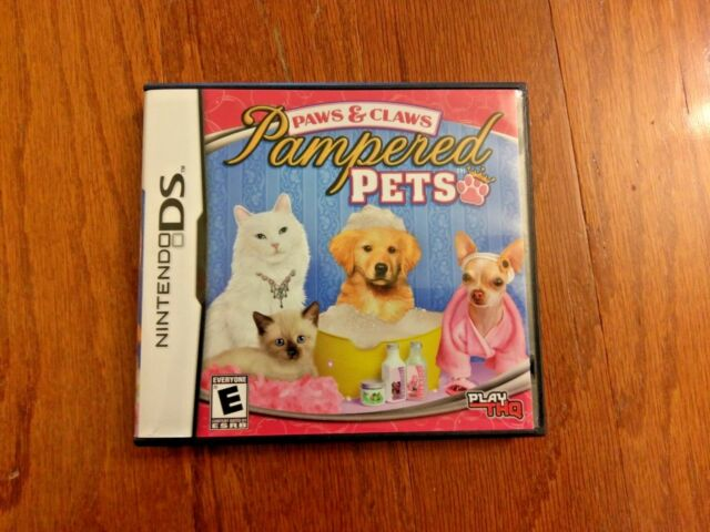 how to play pampered pets on ds