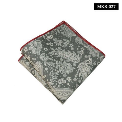 Details about  /Men's Paisley Floral Handkerchief Hanky Party Wedding Formal Pocket Square