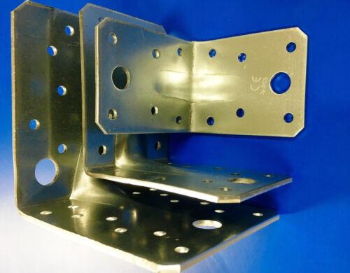 4x Metall Stuhlwinkel 20x20x35mm Holzverbinder Möbel Winkel Korpusverbinder
