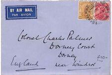 AU70 1936 India *LAHORE* Windsor GB Cover {samwells-covers}PTS