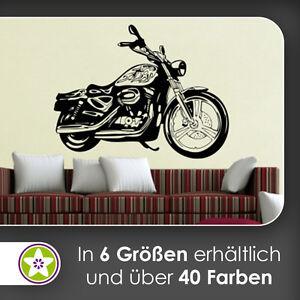 Waf0172 motorrad wandtattoo kiwistar aufkleber wall sticker ebay - Motorrad wandtattoo ...