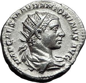 Elagabalus-218AD-Silver-Authentic-Ancient-Roman-Coin-Roma-Cult-Rare-i57970