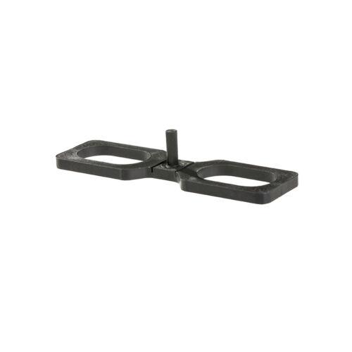 Abstandhalter, Abstandshalter, Distanzhalter für Terrassendielen 4mm, 100 Stück