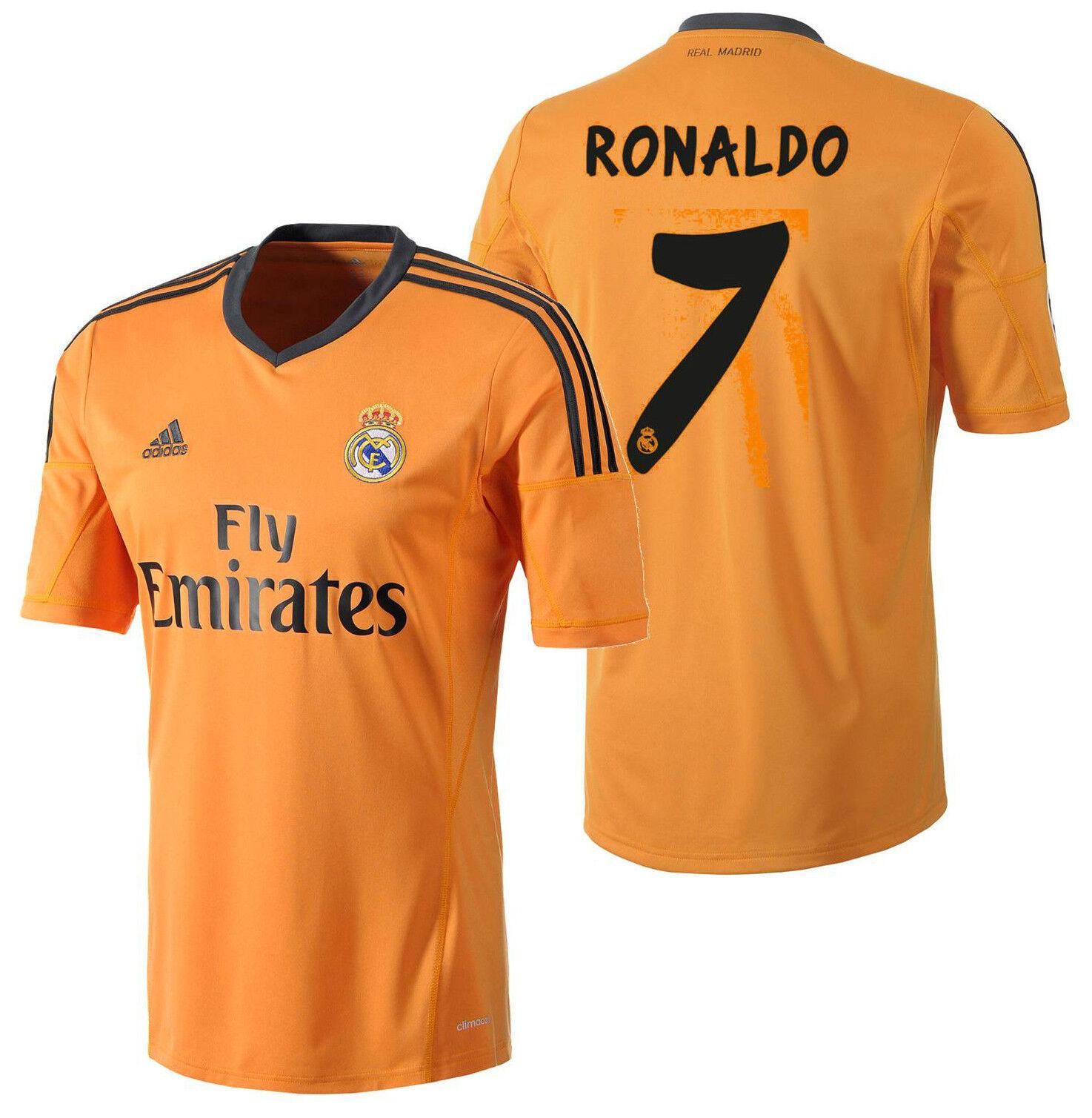 Adidas Real Madrid Cristiano Ronaldo Tercera Camiseta 2013 14