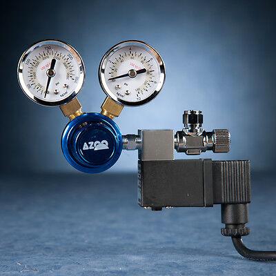 CO2 Pressure Regulator w/Solenoid