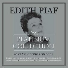 Edith Piaf PLATINUM COLLECTION Best Of 60 Songs ESSENTIAL New Sealed 3 CD