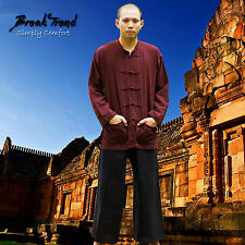 Tai Chi Meditation Yoga Hemd aus 100% Baumwolle Kampfsport Kung Fu 20808