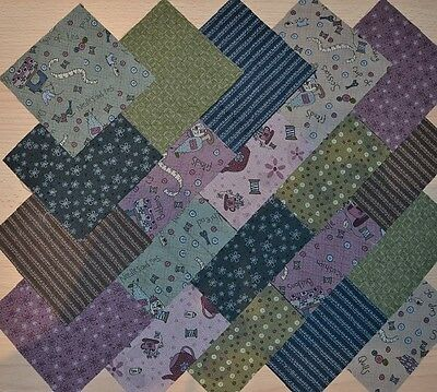 Lot de 20 coupons de Tissu Patchwork Lynette Anderson