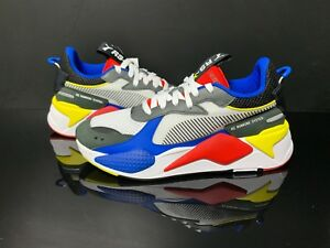 PUMA RS X TOYS Running System Athletic Shoes Men Sneakers White Red 36944902