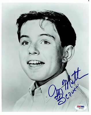 Initiative Jerry Mathers Signed Authentic Autographed 8x10 Photo Psa/dna #y17431 Wide Varieties Entertainment Memorabilia Photographs