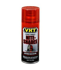 Red Vht Nite Shades Tail Light Tint Taillight Tinting