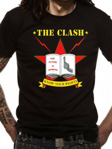 The-Clash-039-Know-Your-Rights-039-T-Shirt-Official-Merchandise-Punk