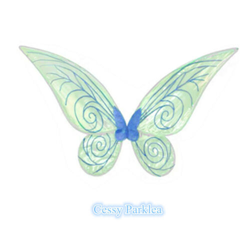 E1 Fairy Angel Tinkerbell Wings Pixie Adults Costume Accessory