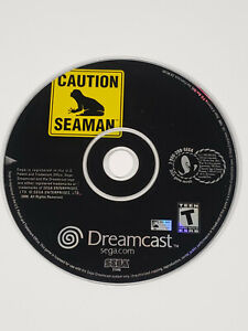 Caution: Seaman (Sega Dreamcast, 2000) - Disc Only, Tested