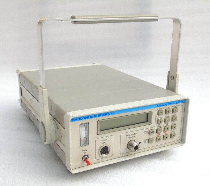 Medidor de potencia RF Marconi instrumentos de Inglaterra 6960B 6960B 6960B 30 KHz a 46 GHz frecuencia Unidad 7ce5d2