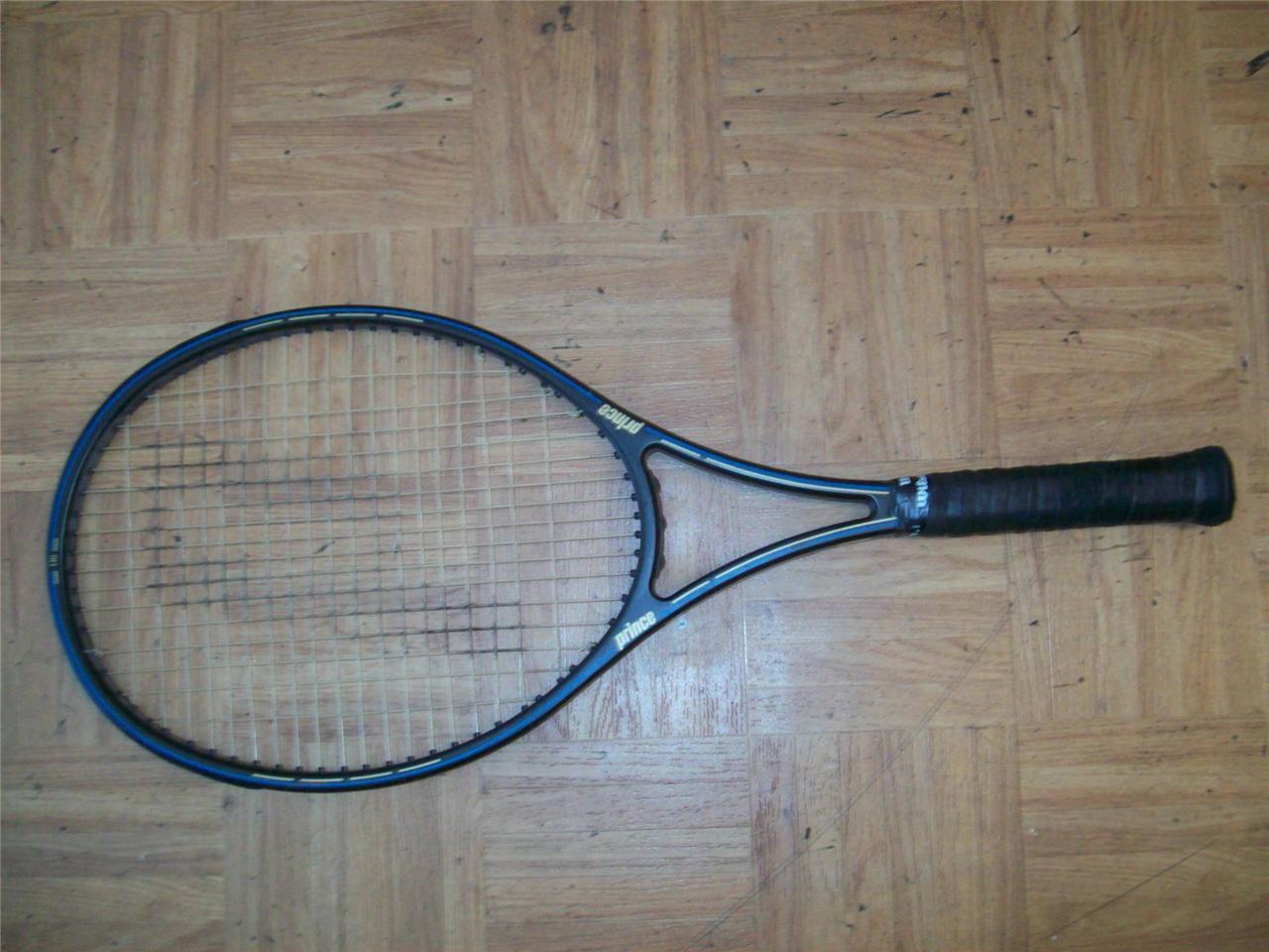 Prince Graphite Supreme 110 4 1 2 grip Tennis Racquet