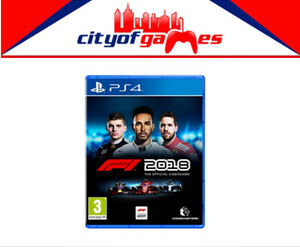 Details about F1 2018 PS4 Game Brand New & Sealed In Stock