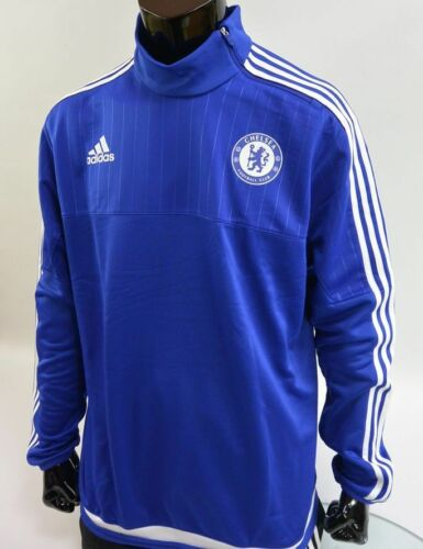 CHELSEA FC ADIDAS MENS FOOTBALL SOCCER 20152016 TRAINING TOP SIZE 2XL adults