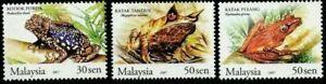 SJ-Frogs-Of-Malaysia-2007-Animal-Amphibians-Fauna-stamp-MNH