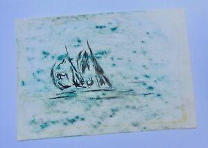 A. Savin - Composition Abstraite / Impressionniste , Non EncadrÉe - N°24