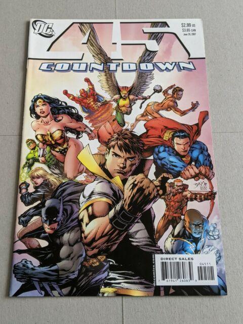 Countdown #45 June 2007 DC Comics Batman Superman