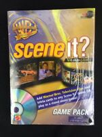 Mattel Scene It? Warner Brothers 50th Anniversary Game Pack Add On Game Sealed