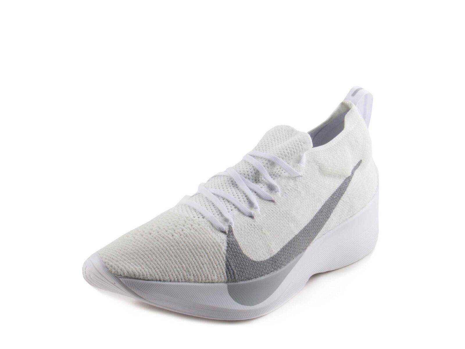 c469a0f1286cd6 Nike Vapor Street Flyknit Pure White wolf Grey Aq1763-100 Men Size ...