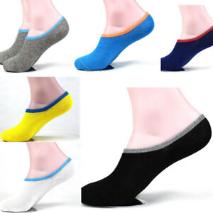 1-Pairs-Men-039-s-Breathable-Low-Cut-Sport-Invisible-No-Show-Ankle-Socks-Boil