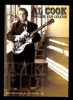 Musik Al Cook Autogrammkarte Original Signiert # Bc 115671 ZuverläSsige Leistung Original, Nicht Zertifiziert