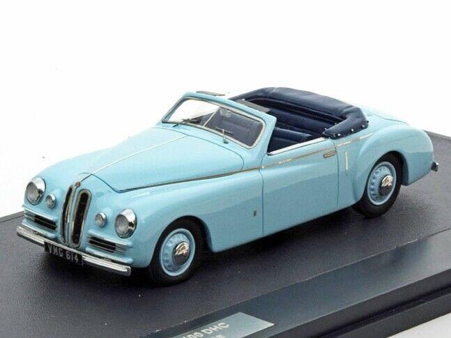 Scale model car 1 43 BRISTOL 400 DHC Pininfarina 1948 Blau