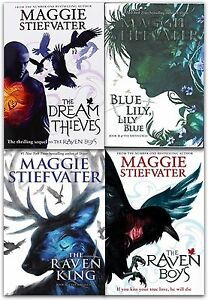The Raven Cycle Series Maggie Stiefvater Collection 4 Books Set
