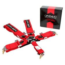 Cipher Auto Cpa4005rd 5 Point Camlock Racing Harness Red