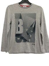 8c406e73a2b7 HUGO BOSS Boys Kids Real Genuine Top T-Shirt Short Full Sleeve Crew Neck  Clothes