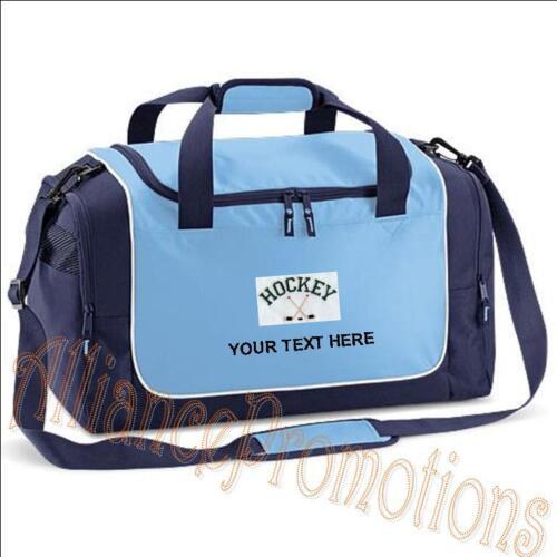 Personalised HOCKEY Quadra Travel Sport Bag Holdall